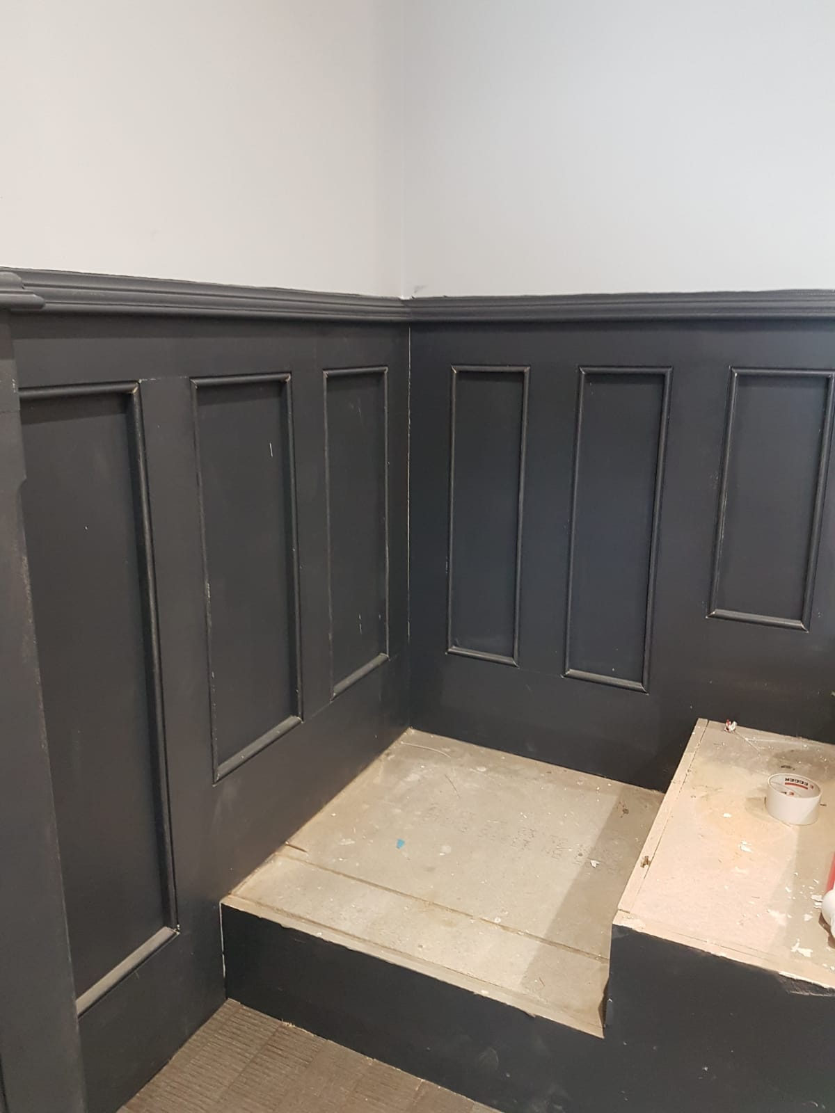 Wainscoting and panelling job in Ely