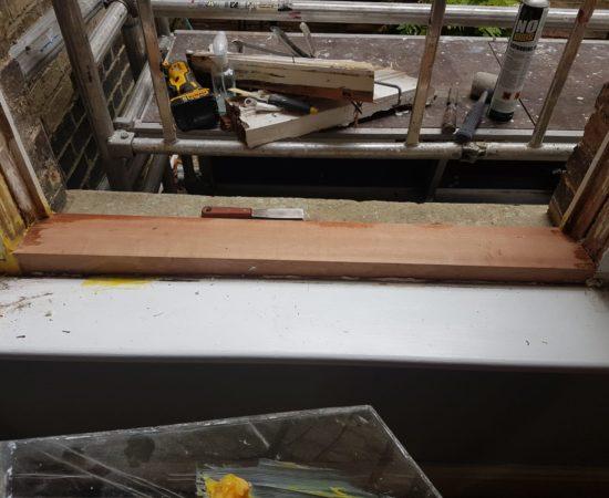 Overhaul and repair of a window in Cherry Hinton