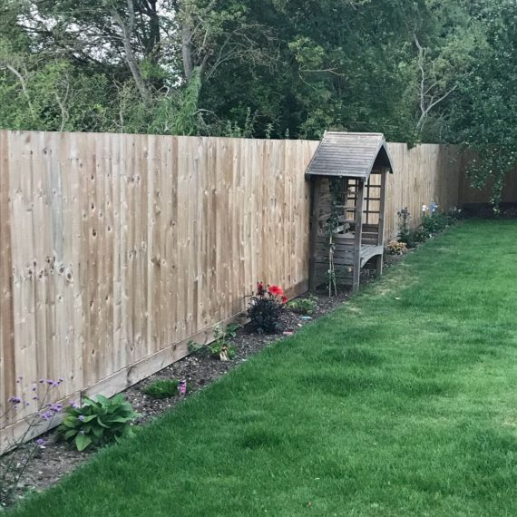 A bespoke fencing project in Cambridge