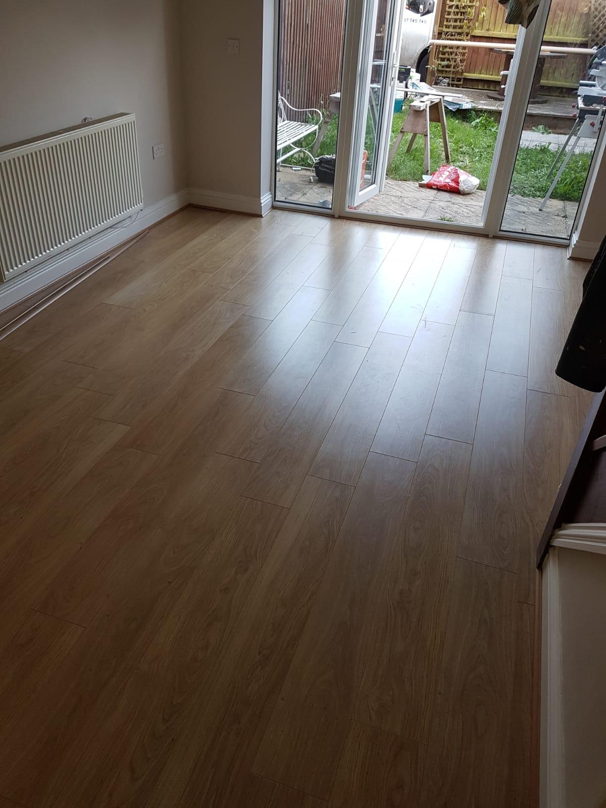 A timber flooring we lay in Lakenheath