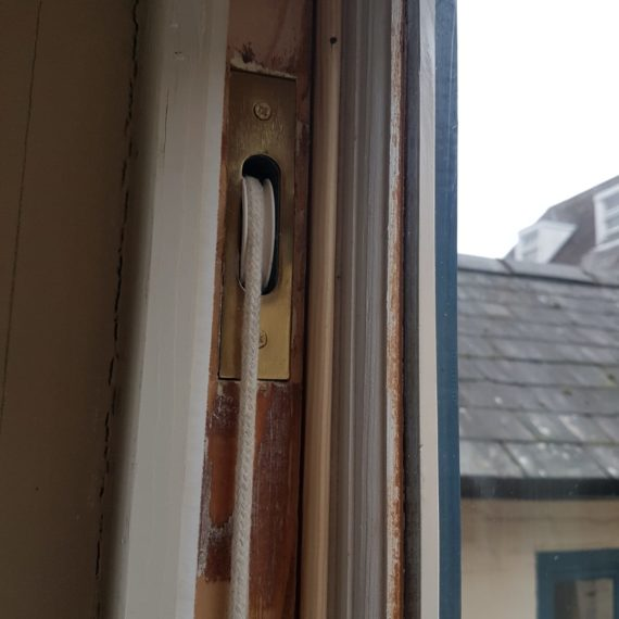 draught proofing a rattling window