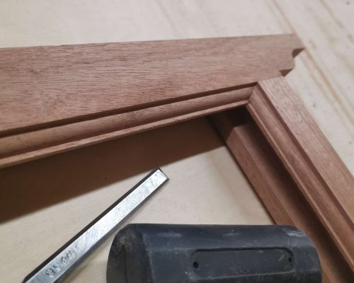 Carpentry and joinery tools with MDF wood