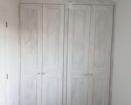 Beautiful white wardrobes made from hand in Isleham