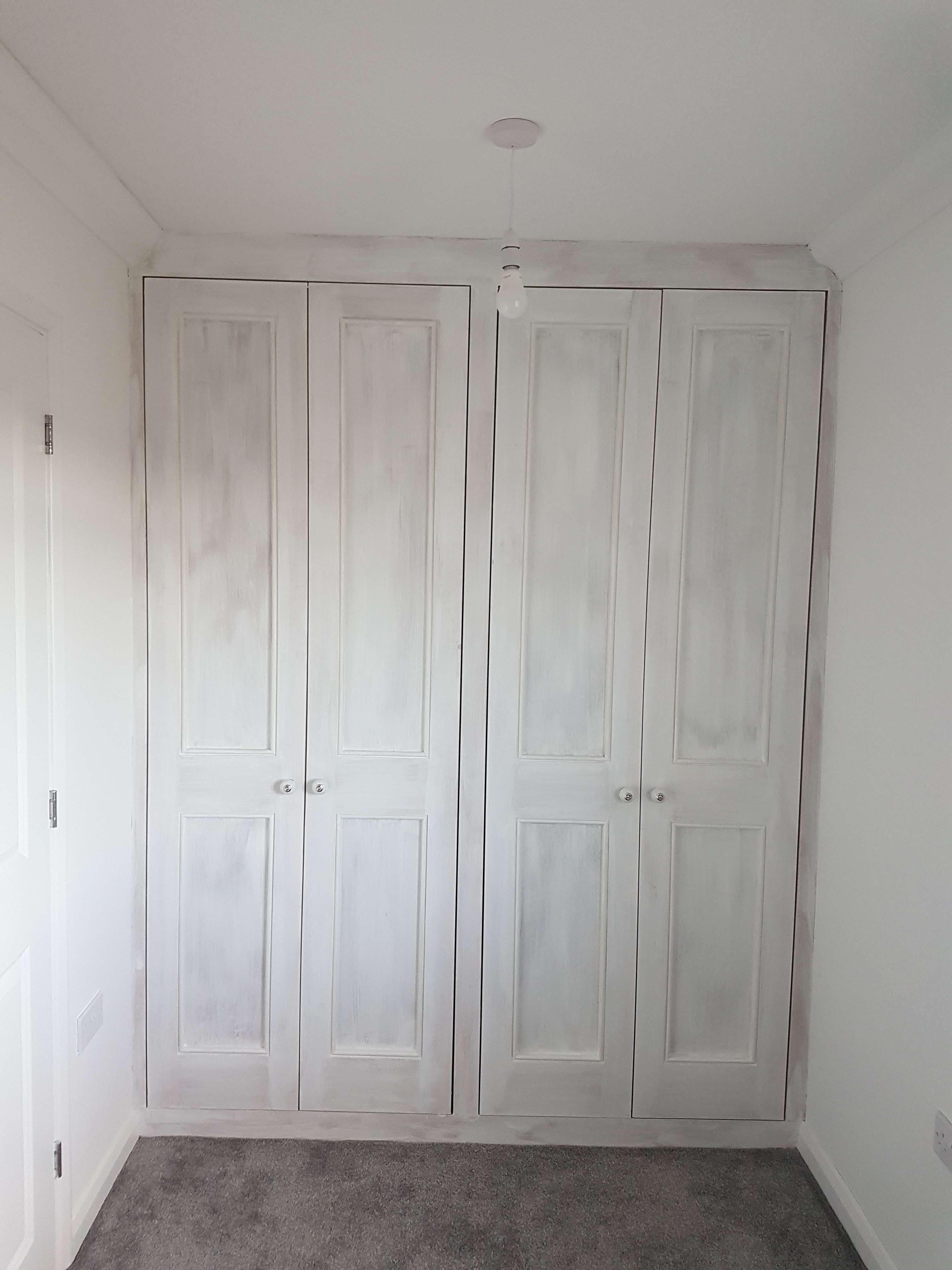 Beautiful white wardrobes made from hand in Isleham